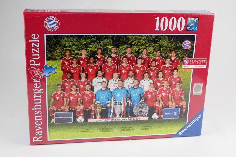 300 Teile 13-Puzzle Ravensburger 13058 FC Bayern M/ünchen Saison 2012