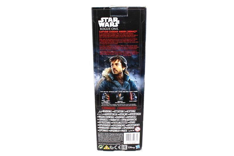 Star Wars B7378 Rogue Eins Kapitän Cassian Andor 30cm Figur Kinder Spielzeug