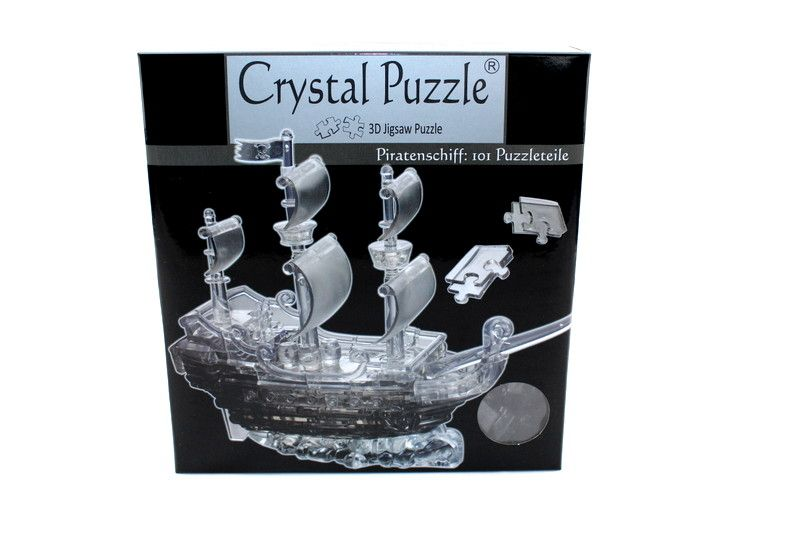 Piratenschiff 101 Teile 3D Crystal Puzzle