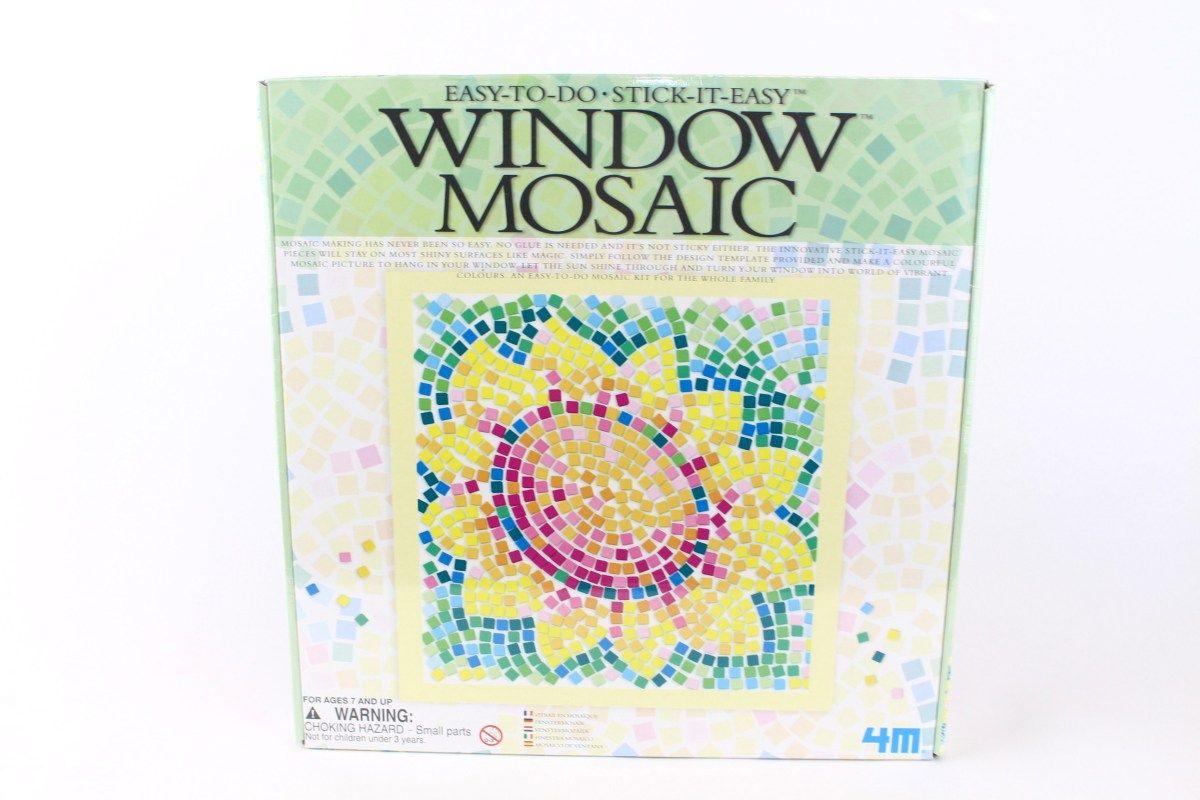 basteln und malen » bastelsets • hcm, fenster mosaik, sonnenblume