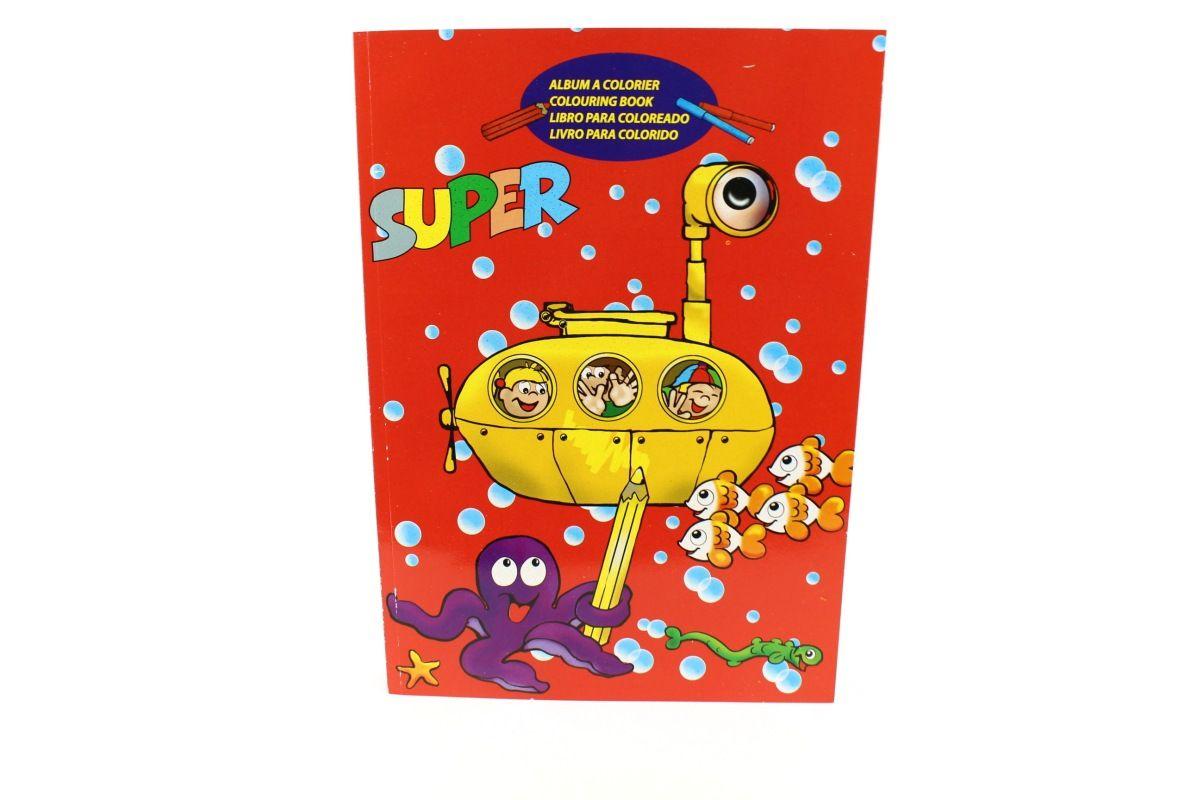 Basteln und Malen » Malbücher • Super Malbuch, rot