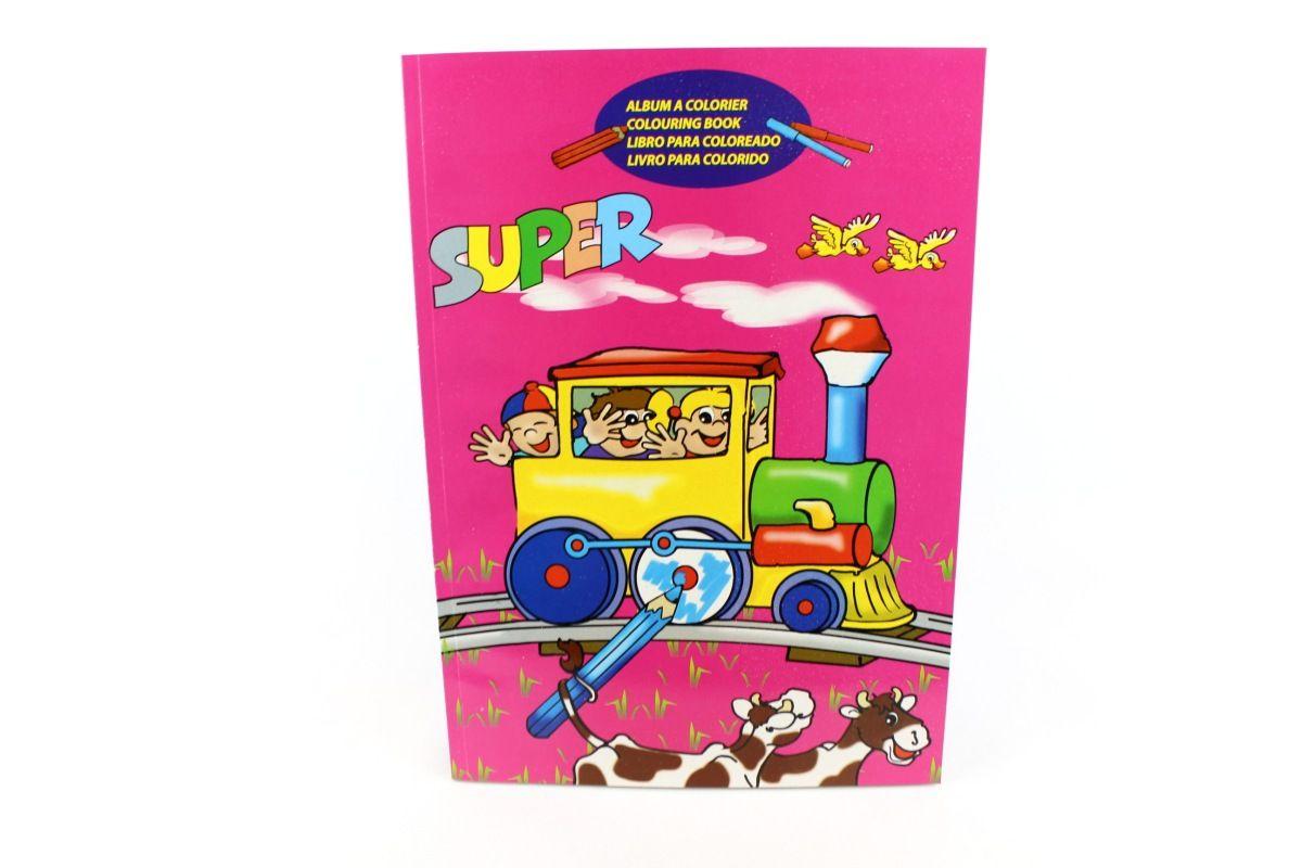Basteln und Malen » Malbücher • Super Malbuch, pink