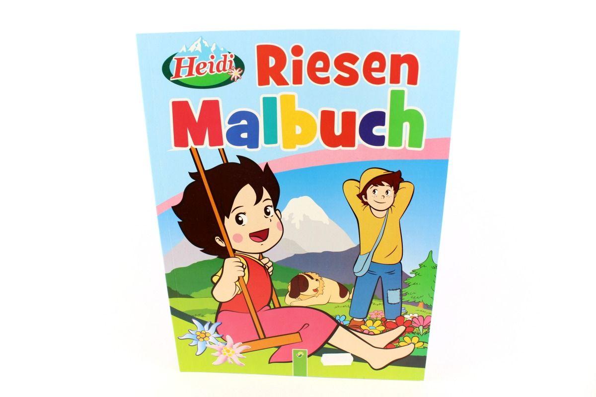 Basteln und Malen » Malbücher • Riesen Malbuch, Heidi