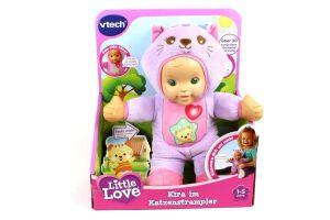 V-Tech  Little Love Kira im Katzenstrampler Vtech